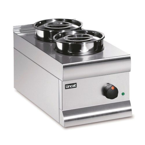 Lincat BS3 Stainless Electric Round Pot Dry Heat Bain Marie
